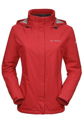 VAUDE Damen Jacke Escape Bike Light Jacket, Red, 40, 04992 -