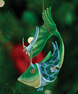 Patience Brewster Krinkles Catch of the Day Christmas Ornament