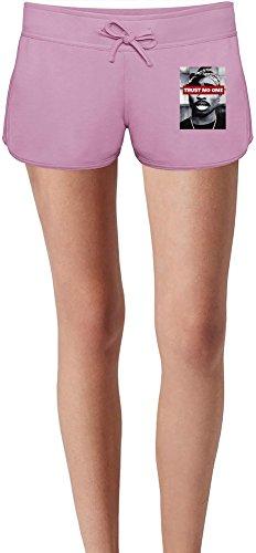 Trust No One Sweat Shorts Estivi per Donne Summer Sweat Shorts For Women & Ladies   80% Cotton-20%Polyester  DTG Printing  Unique & Custom X-Large