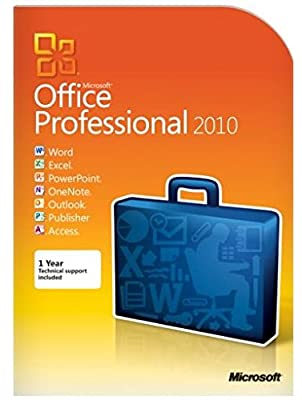 MICROSOFT OEM/DSP, Microsoft Office 2010 Professional - 32/64-bit - 1 PC (Catalog Category: Computer Technology / Software Products)