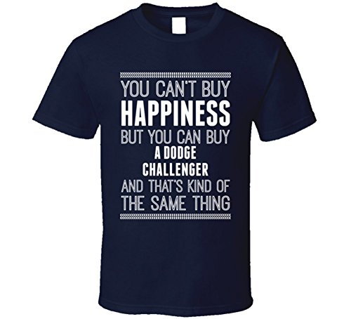 buy-a-dodge-challenger-happiness-car-lover-t-shirt-l-navy