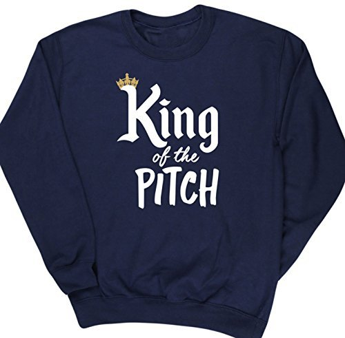 hippowarehouse-king-of-the-pitch-kids-unisex-jumper-sweatshirt-pullover