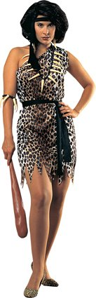 Cave Woman Ladies Halloween Costume Standard Size Picture