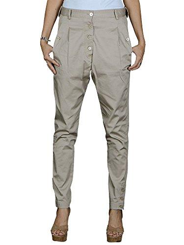 Gaudi - Pantaloni da donna - beige - casual -42