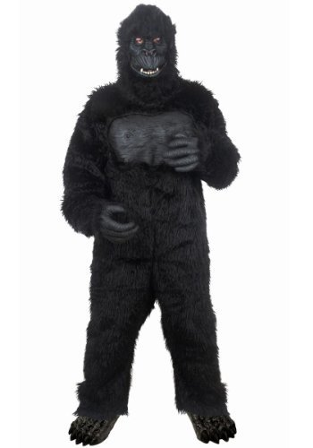 Seasons Hk Mens Gorilla Adult Costume