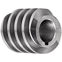 "Boston Gear D1427KRH Worm Gear, 14.5 Degree Pressure Angle, 0.875"" Bore, 8 Pitch, 1.5 PD, RH"