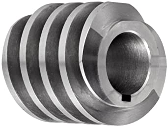 "Boston Gear D1427KRH Worm Gear, 14.5 Degree Pressure Angle, 0.875"" Bore, 8 Pitch, 1.5 PD, RH"
