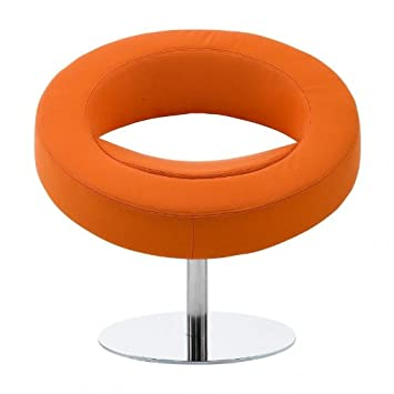 Hello Lounge Chair orange/felt 624