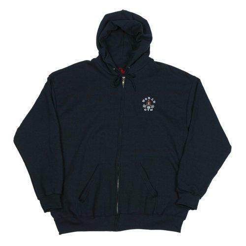 ZHS World Gym Zip Hooded Sweatshirt - Buy ZHS World Gym Zip Hooded Sweatshirt - Purchase ZHS World Gym Zip Hooded Sweatshirt (World Gym, World Gym Apparel, World Gym Mens Apparel, Apparel, Departments, Men)