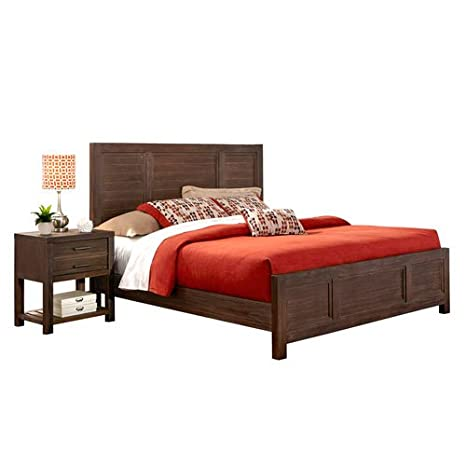 Barnside Bed and Night Stand King