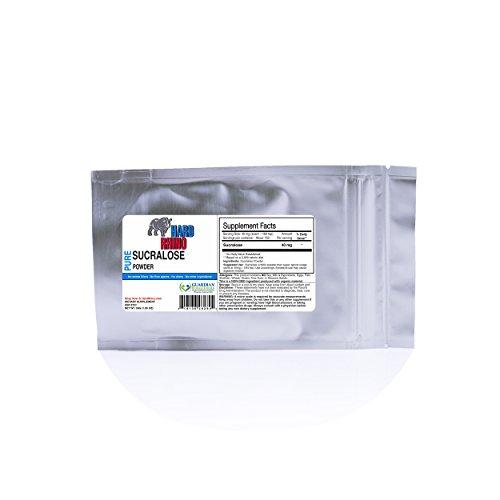 Pure Sucralose Powder Bulk. 600X Sweeter Than Sugar. (30G)