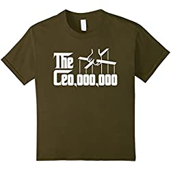 Kids Ceo 000 000 Shirt The CEO,000,000 Godfather Puppet Hand 6 Olive