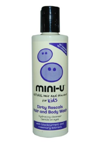 MINI-U Dirty Rascals Hair and Body Wash - Blackcurrant and Rosemary Extract