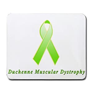 Muscular Dystrophy Awareness Ribbon Mouse Pad : Office Products
