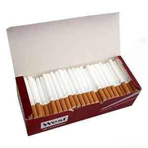 200 West Zigaretten-Hülsen mit Filter zum Selber Stopfen