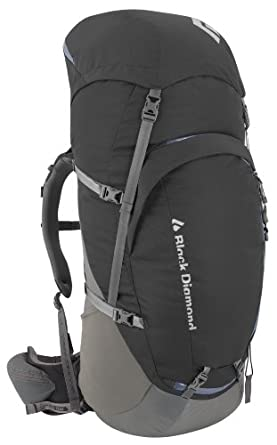 Black Diamond Mercury 65 Backpack, Coal, Medium