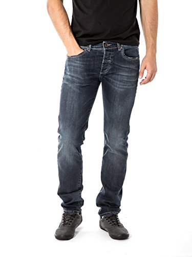 FIFTY FOUR - Jeans da uomo super slim fit staff j859 w38 denim scuro