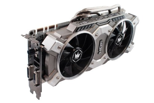 GALAXY社製 NVIDIA GeForce GTX780 GPU搭載ビデオカード (オーバークロックモデル) GF PGTX780-SOC/3GD5 HOF