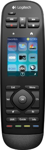 Lowest Prices! Logitech Harmony Touch Universal Remote with Color Touchscreen - Black (915-000198) [...
