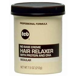 Tcb No Base Creme Hair Relaxer Regular 7.5oz