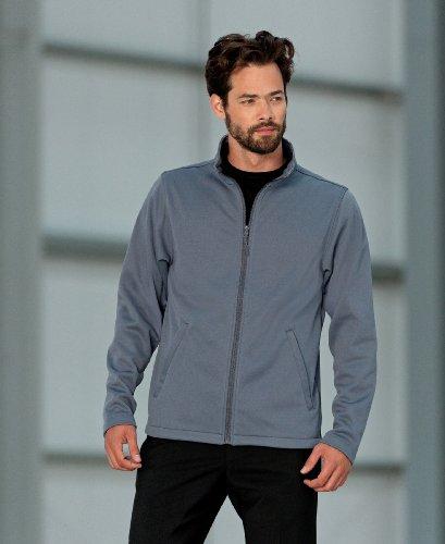 Men's Smart Softshell Jacket COLOUR Convoy Grey SIZE S