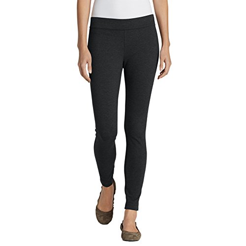Eddie Bauer Womens Passenger Ponte Skinny Pants, Charcoal Htr 12
