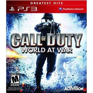 NEW COD: World at War PS3 (Videogame Software)