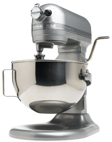 Review KitchenAid KV25GOXMC Professional 5 Plus 5-Quart Stand Mixer, Metallic Chrome