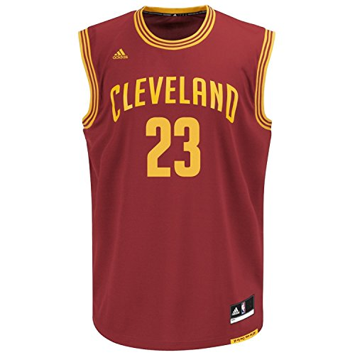 LeBron James Cleveland Cavaliers #23 NBA Kids Sizes 4-7 Road Jersey Wine (Kids Medium Size 5/6) (All Lebron James Shoes compare prices)