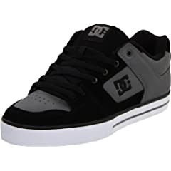 DC Men's Pure Action Sports Shoe,Charcoal/Black,12 D US