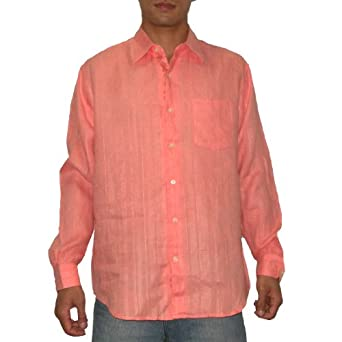 Tommy Bahama Mens Button Down Long Sleeve Linen Shirt by Tommy Bahama
