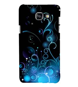 printtech Abstract Pattern Back Case Cover for Samsung Galaxy A3 (2016)