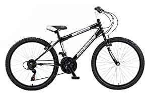Townsend Chaos Boys Bike - Black, 24-inch