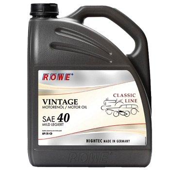 ROWE VINTAGE SAE 40 mild legiert - SAE 40 HD