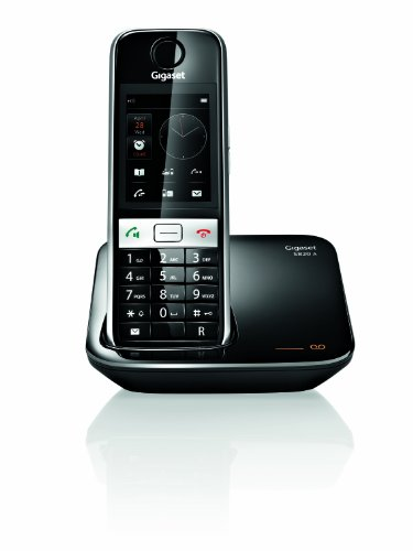 Gigaset S820A Cordless DECT Phone with Touch Screen, Answer Machine and Call Blocker picture