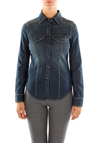 Camicie Pinko Donna Lyocell Blu 1G1170Y1JHG10 Blu 40