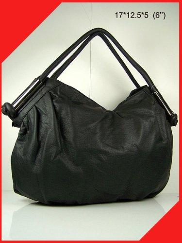 women handbag purse valentine's gift tote hobo Black bag