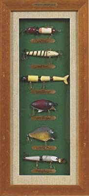 Rivers Edge Shadow Box Lure History by River's Edge