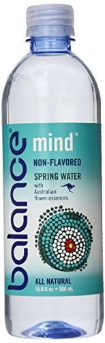 Balance Water Non Flavored Spring Water, Mind, 16.9 Ounce (Pack of 12)