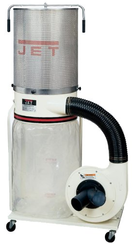 Great Features Of Jet DC-1100VX-CK Dust Collector 1.5HP 1PH 115/230-Volt 2-Micron Canister Kit