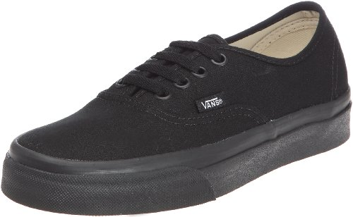 Vans Unisex Authentic Trainer black/black VEE3BKA 9 UK