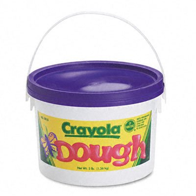 o Crayola o - Reusable Modeling Dough, 3lb in Airtight Container, Violet