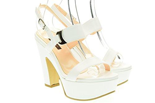 L'AMOUR donna sandalo 314 MIU80 37 Bianco