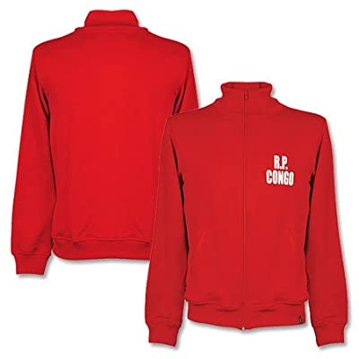 1972 D.R. Congo Retro Track Top - Red deal 2015