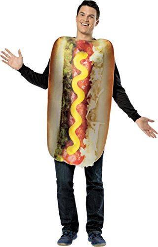 Morris Costumes Get Real Loaded Hot Dog Adult Costume