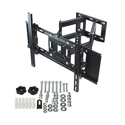 Full Motion Plasma LCD LED TV Wall Mount 26 32 37 40 42 46 47 50 52 55 60 65 70 (19in Turntables For Shelves compare prices)