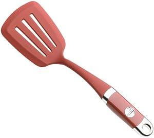 Amazon.com: KitchenAid Silicone Slotted Turner, Red