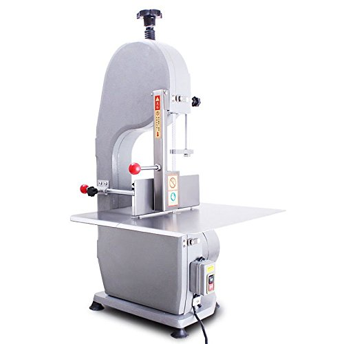 M&N ® Electric Bone Saw Machine Meat Band Saw Cutting machine Frozen Meat Frozen Fish Steak Cutting Machine 220V / 50Hz 1100W 200-300KG/H (Meat Saw Machine compare prices)