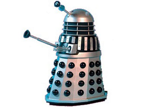 Radio Control Dalek (silver with black spheres) from Dr Who