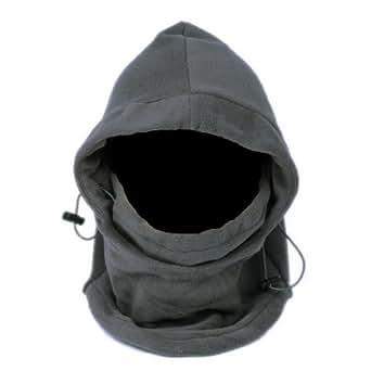 EOZY Grey Thermal Warm Fleece Balaclava Hood Veil Wind Proof Stopper Mask Hats